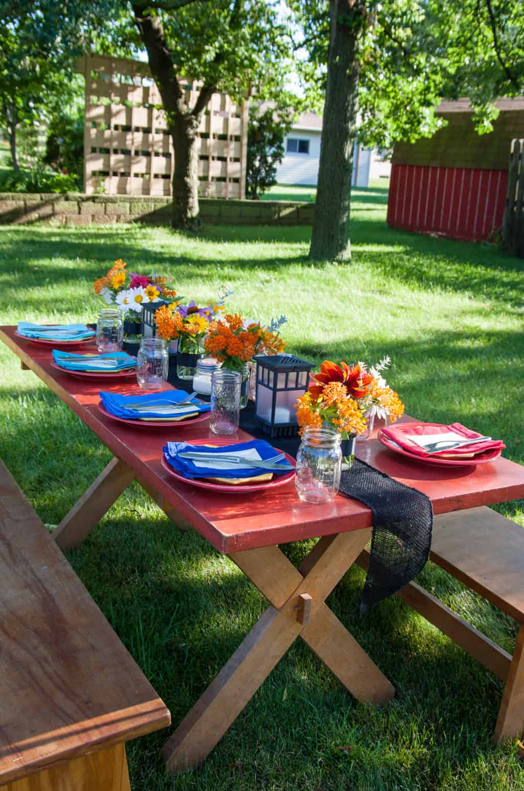 Farm To Table Dinner In Your Backyard