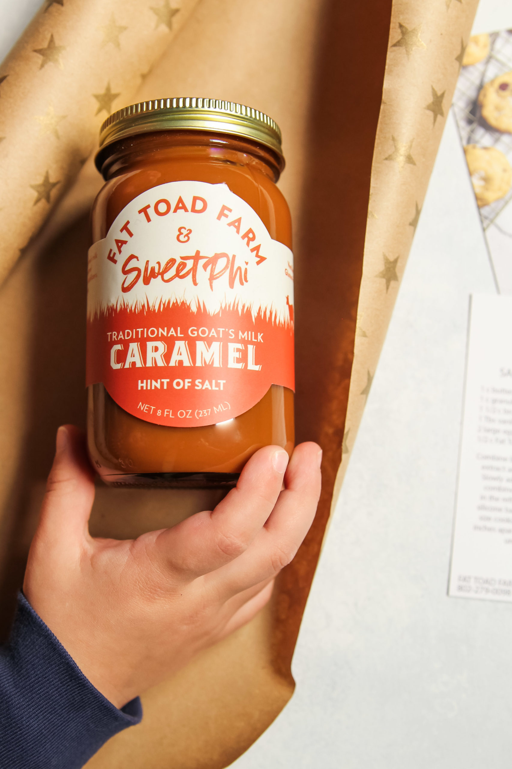 The best collaboration with Fat Toad Farm Caramel and SweetPhi