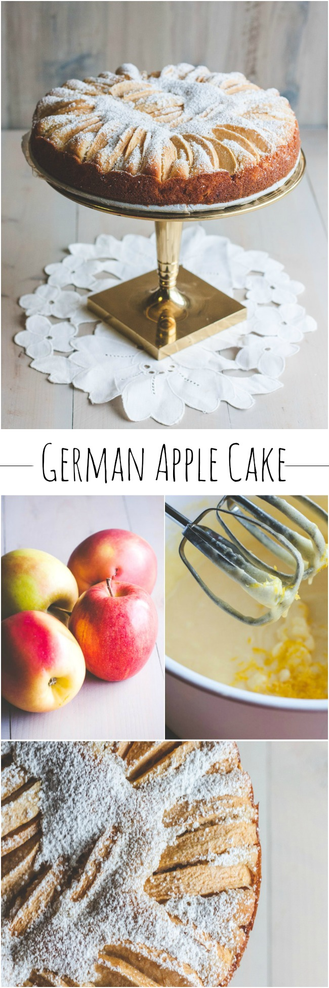 How to make the best German apple cake