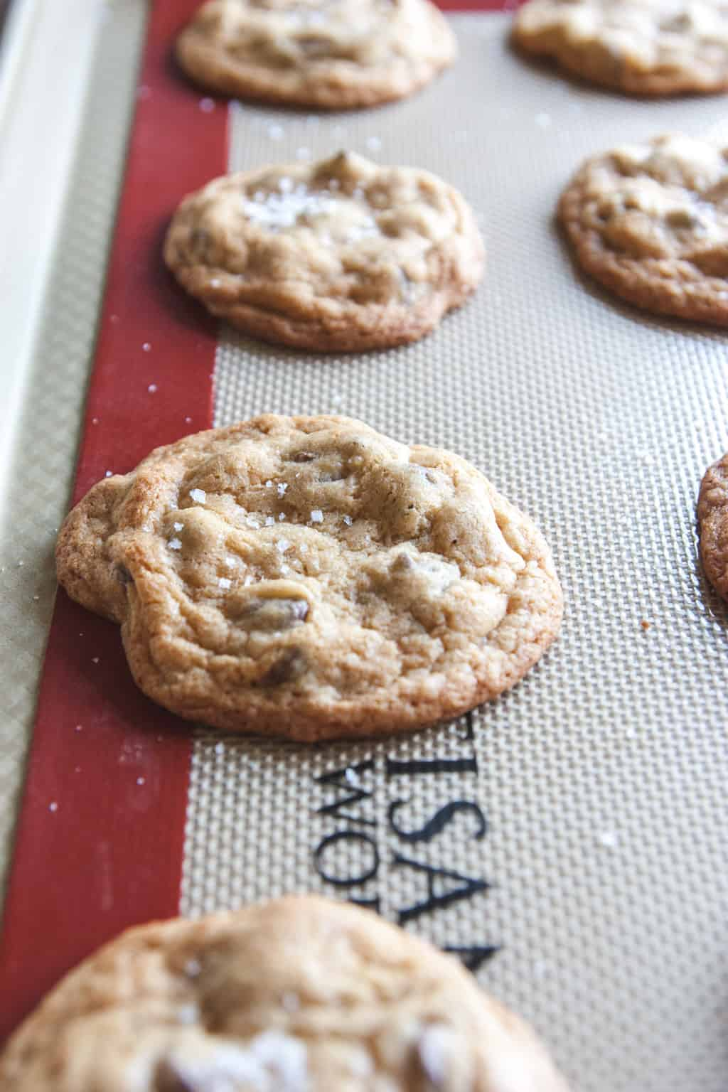 The most delicious salted caramel cookies