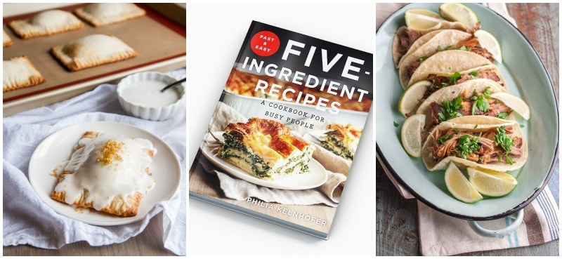 The only cookbook you'll need for 5 ingredient recipes!