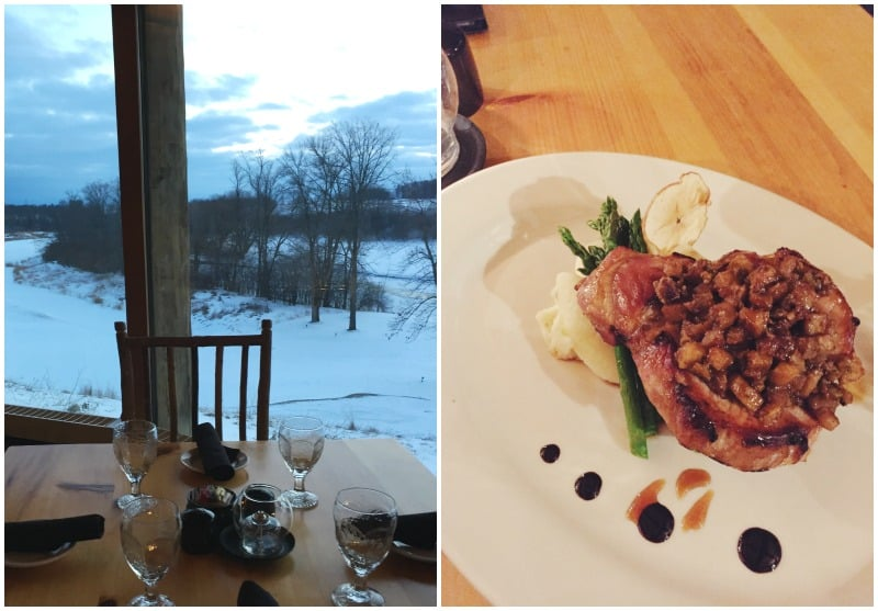 A must is dinner at Blackwolf Run with stunning views