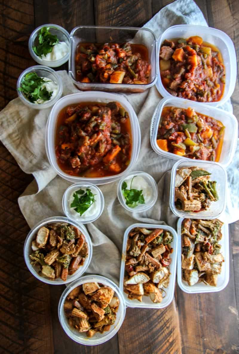Healthy meal planning recipe slow cooker beef and sweet potato stew