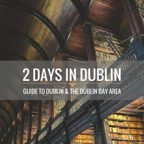 2 Days in Dublin: a guide to Dublin and the Dublin Bay area from @sweepthi