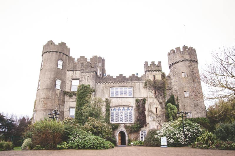 A look at the Malahide Castle in Dublin Bay Area