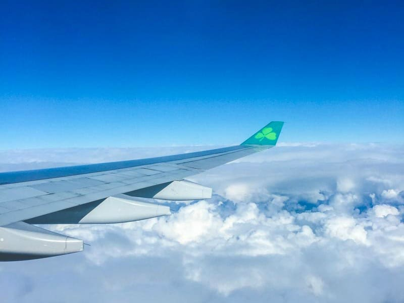 Aer Lingus flying into Dublin