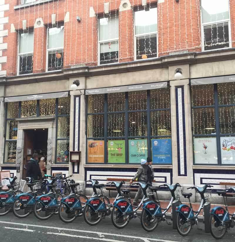 Plenty of things to do in Dublin like renting bikes