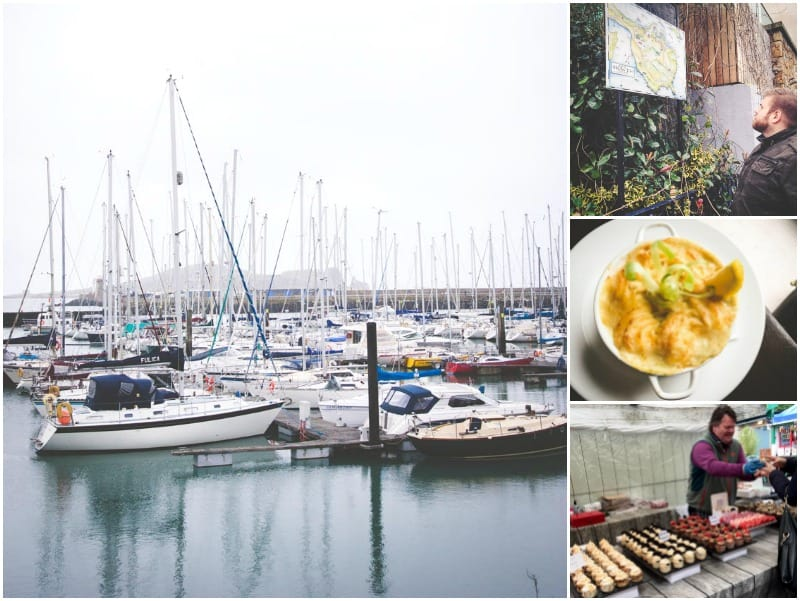 A Saturday in the town of Howth in Dublin