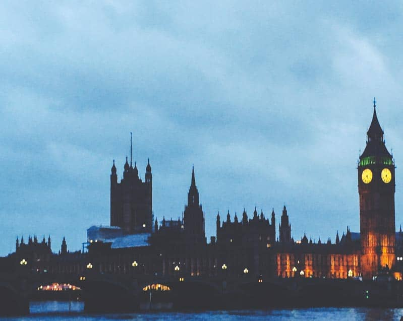 The most gorgeous views of London at dusk