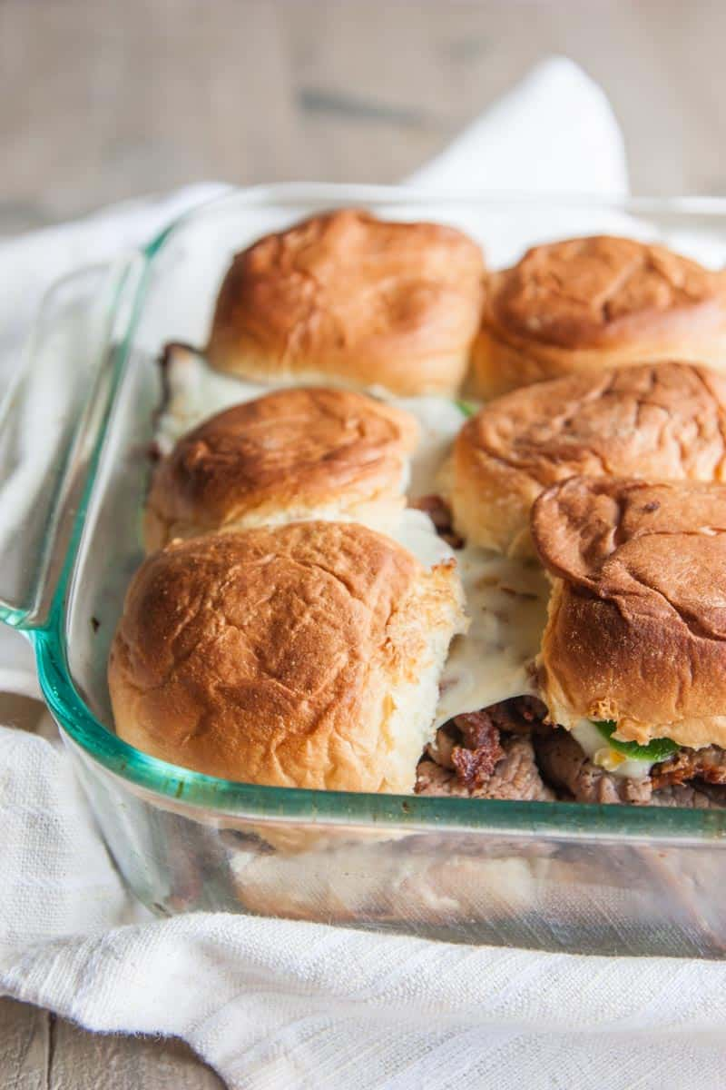 Delectable and delicious spicy roast beef sliders