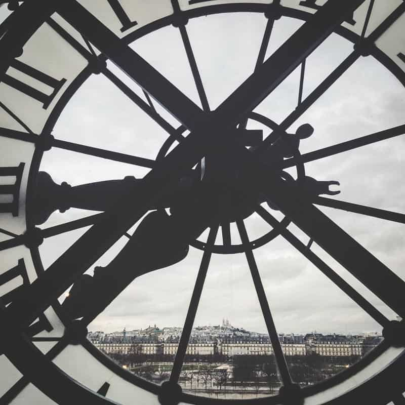 The most amazing views of Paris from the Museum d'Orsay