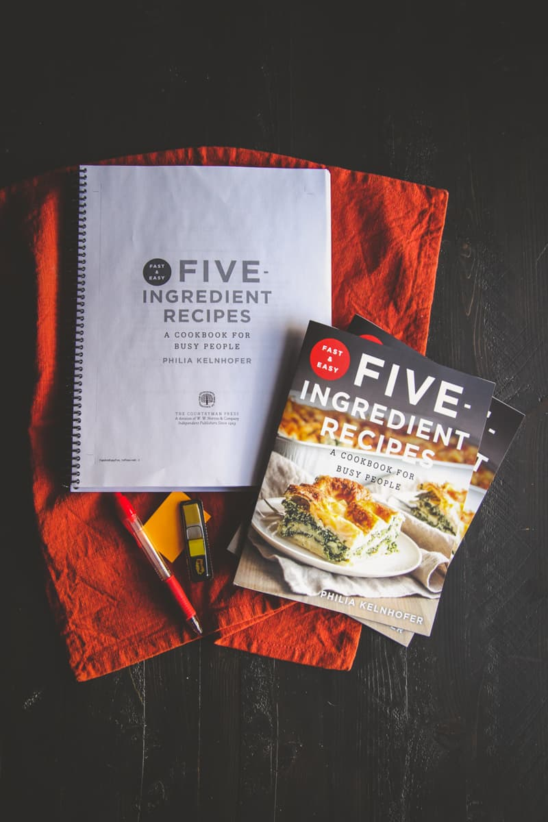 Fast & Easy Five-Ingredient Recipes: A Cookbook for Busy People