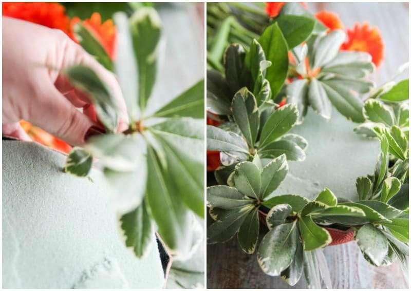 How to arrange flowers to make a beautful arrangement