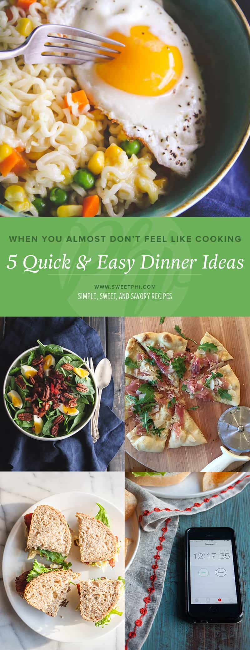 The 5 best quick and easy dinner ideas