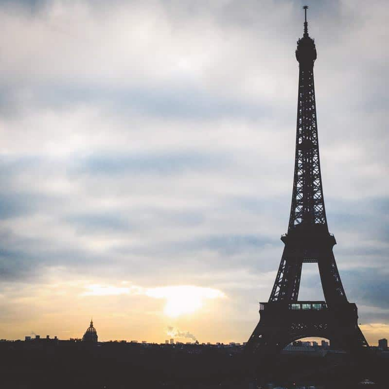 Gorgeous views of the Eiffel Tower in Paris