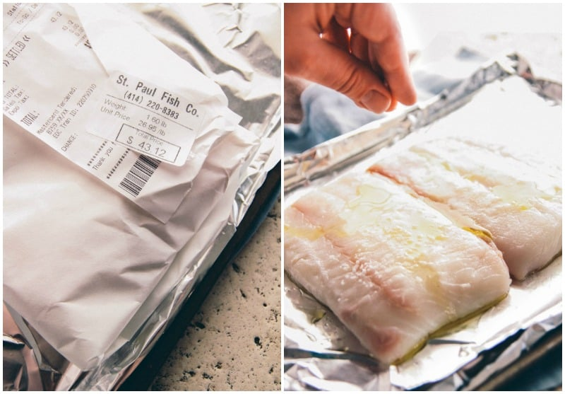 The most amazing and flavorful baked halibut