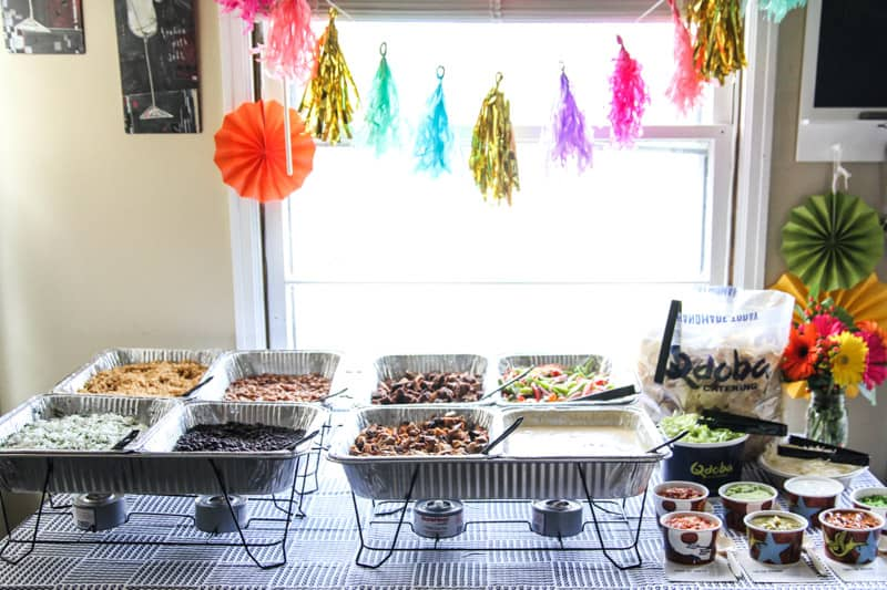 The best catering from Qdoba for a Cinco de Mayo Fiesta