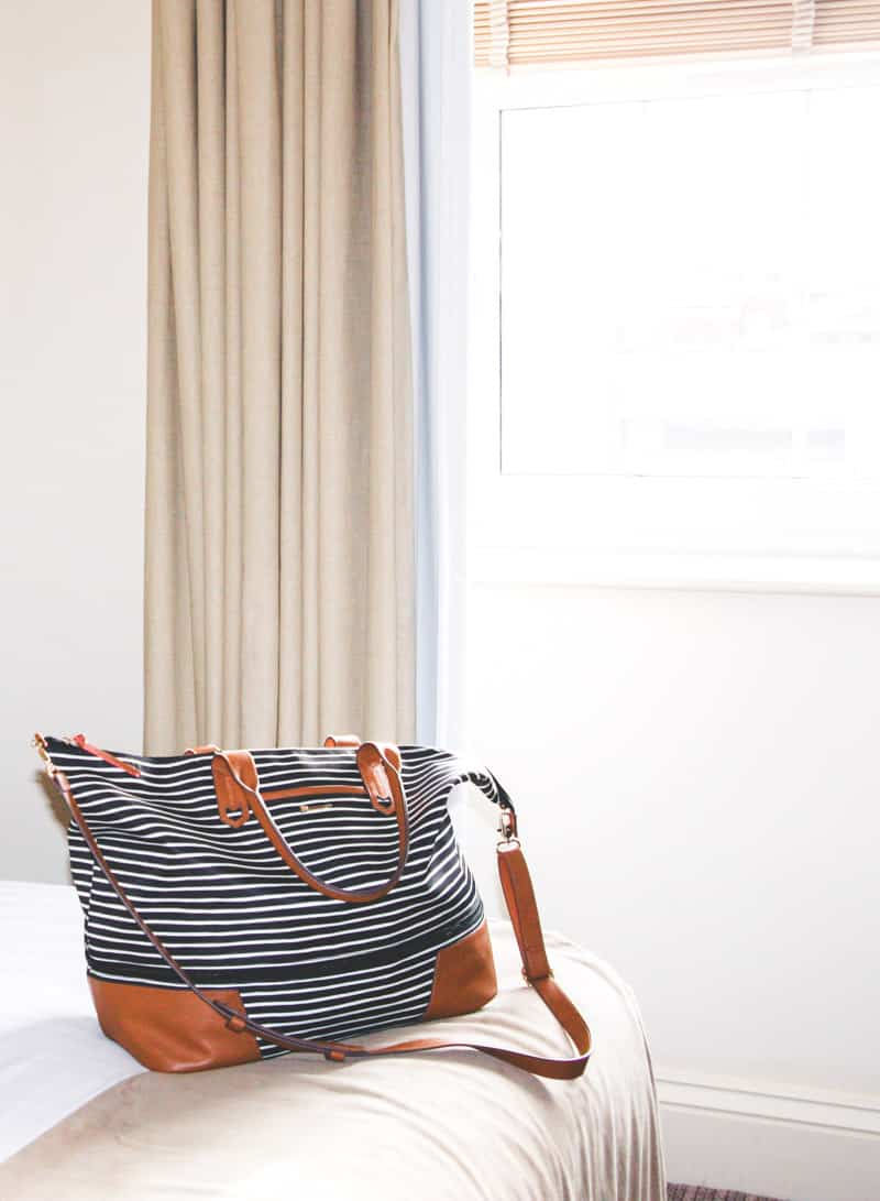 My favorite bag for travelling from Stella & Dot!
