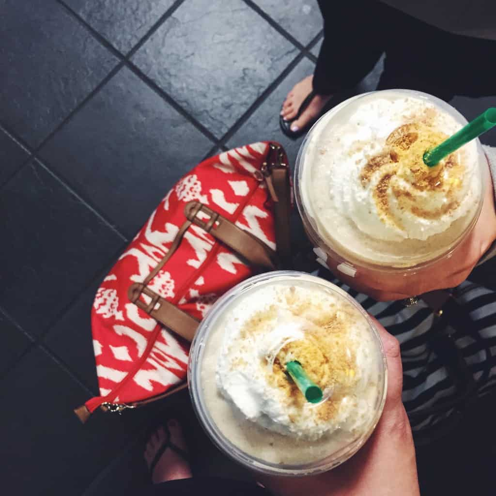 The best Starbucks s'mores frappachinos!