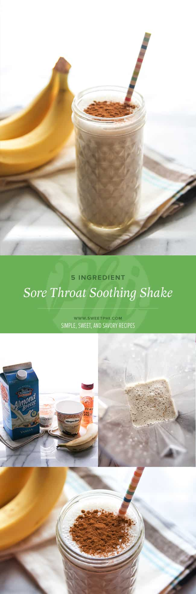 The best sore throat soothing shake you need