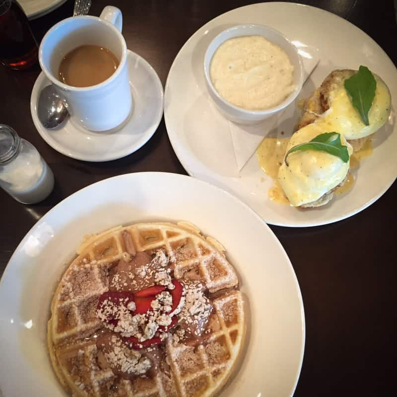 The best brunch at the Asbury in Charlotte, NC on a girls getaway