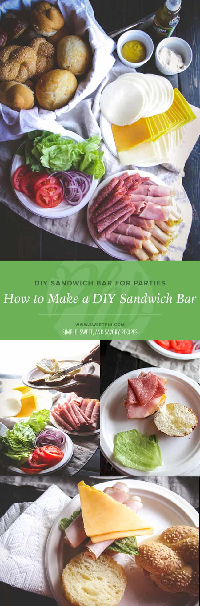 How to make a DIY sandwich bar for parties