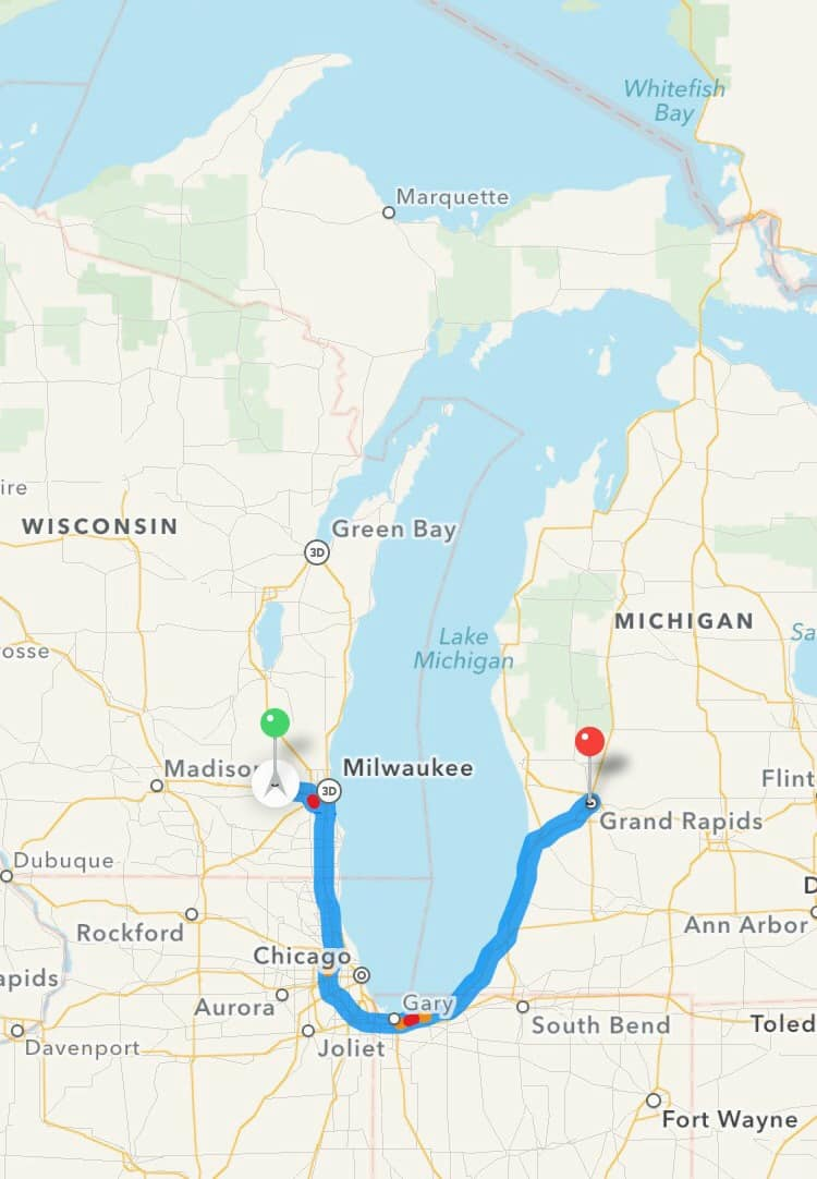 Four days on the Fresh Coast from Milwaukee to Grand Rapids, MI