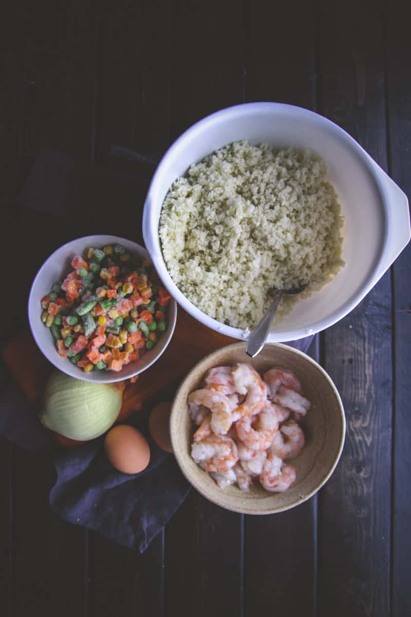 The Best Shrimp Cauliflower Fried Rice You'll Eat