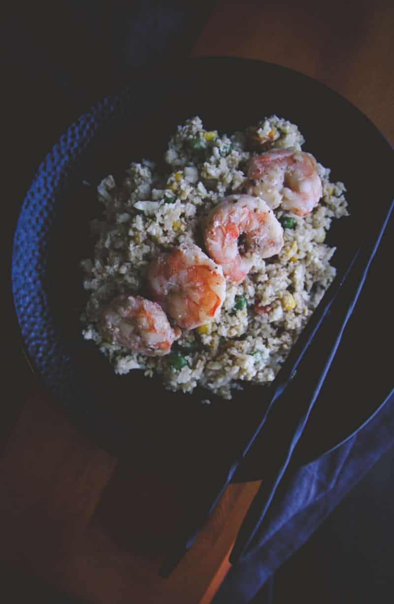 The Best Shrimp Cauliflower Fried Rice You'll Ever Eat
