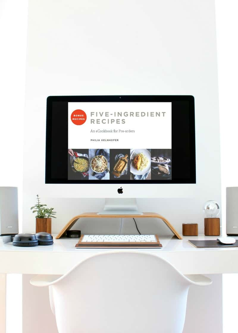 The best bonus eCookbook for Fast & Easy Five-Ingredient Recipes Cookbook