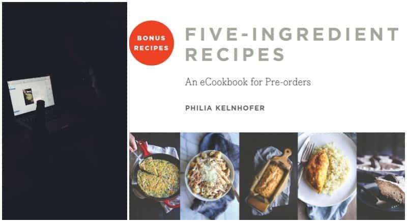The most amazing bonus recipes ecookbook for preorders
