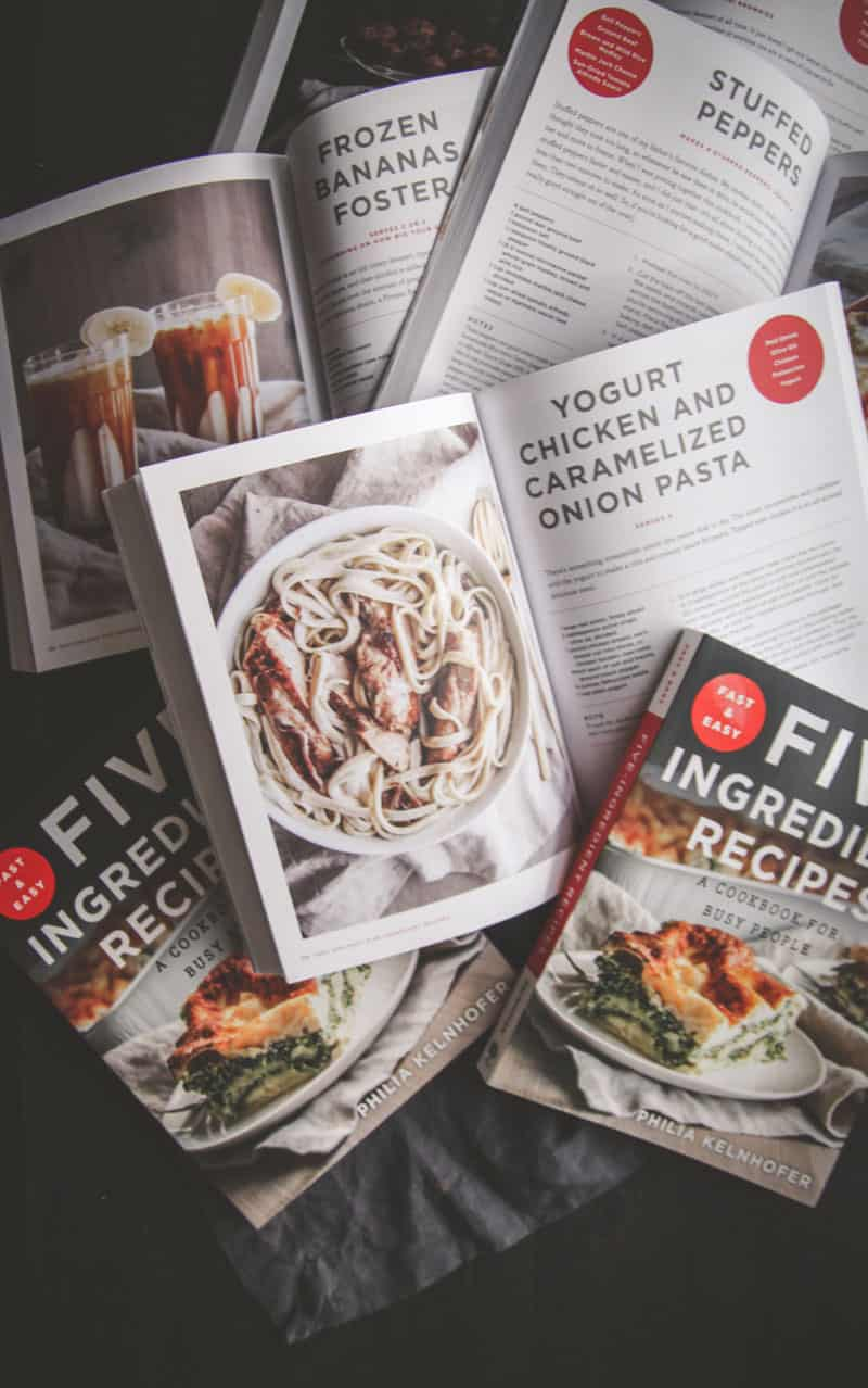Fast and Easy Five Ingredient Recipes Cookbook
