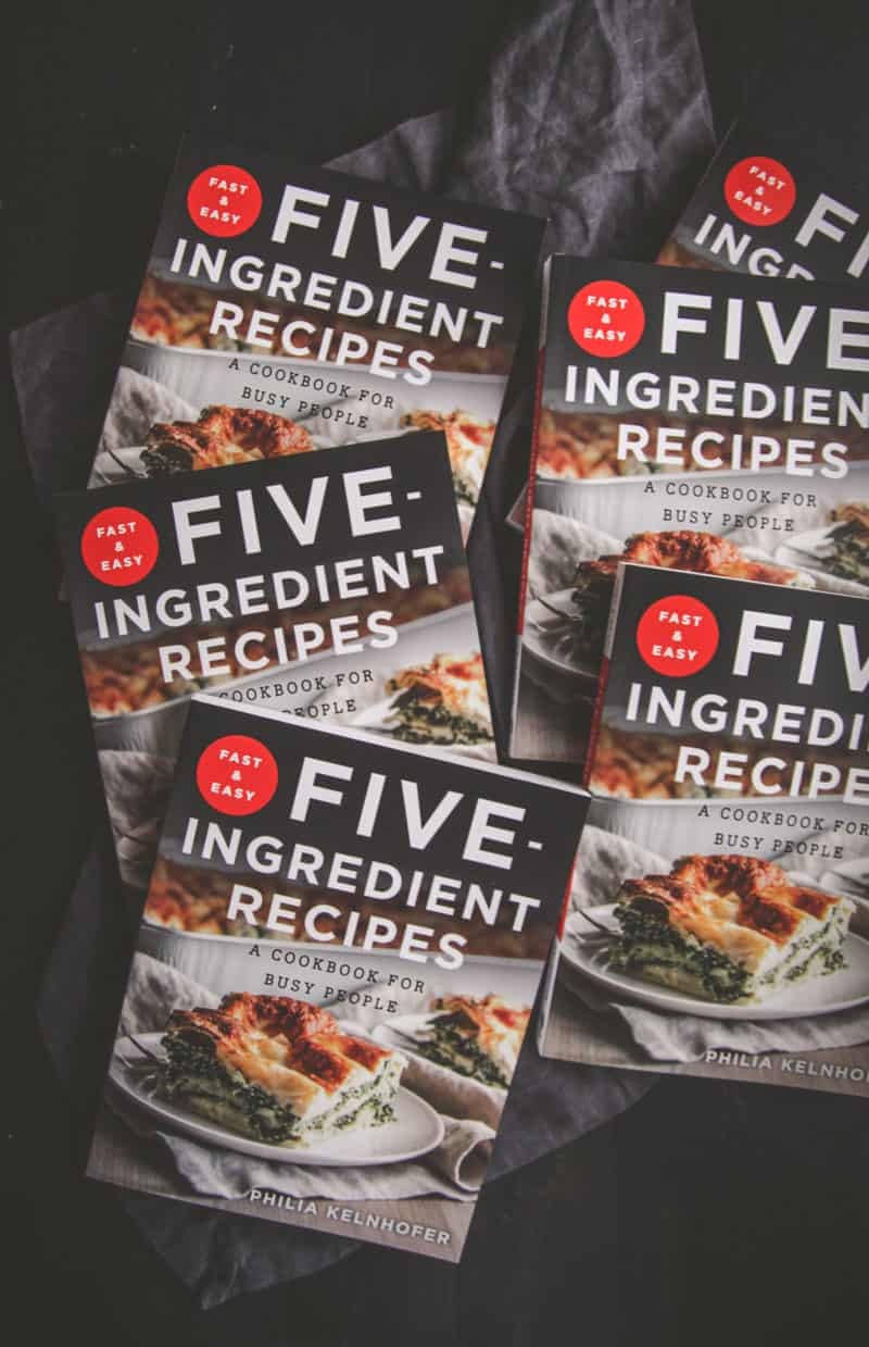 The best cookbook you need now is Fast and Easy Five Ingredient Recipes Cookbook