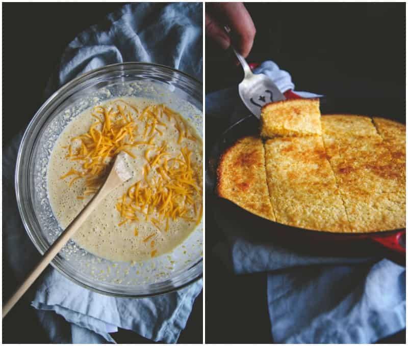 The best tasting slight sweet skillet cornbread you will ever eat