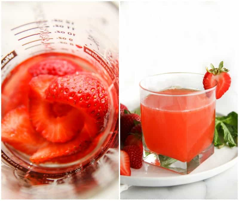 The best 5 ingredient strawberry daiquiri you will ever drink