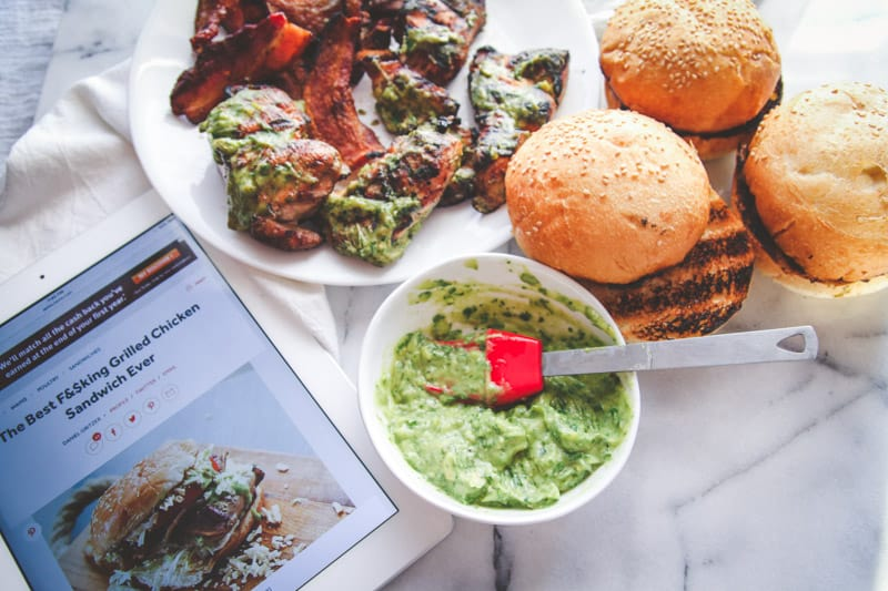This is the best 5 ingredient magic green sauce ever