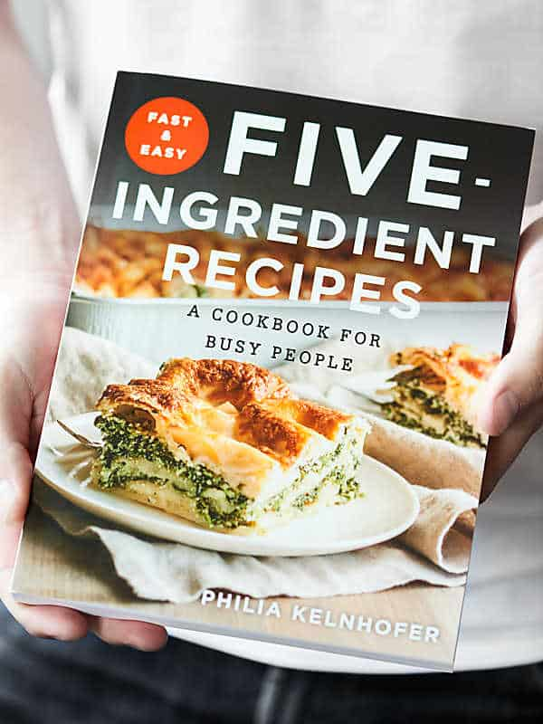 The only cookbook you need is the Fast & Easy Five-Ingredient Recipes: a Cookbook for Busy People
