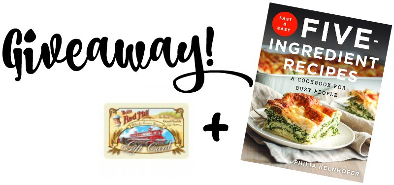 Gift certificate and cookbook giveaway