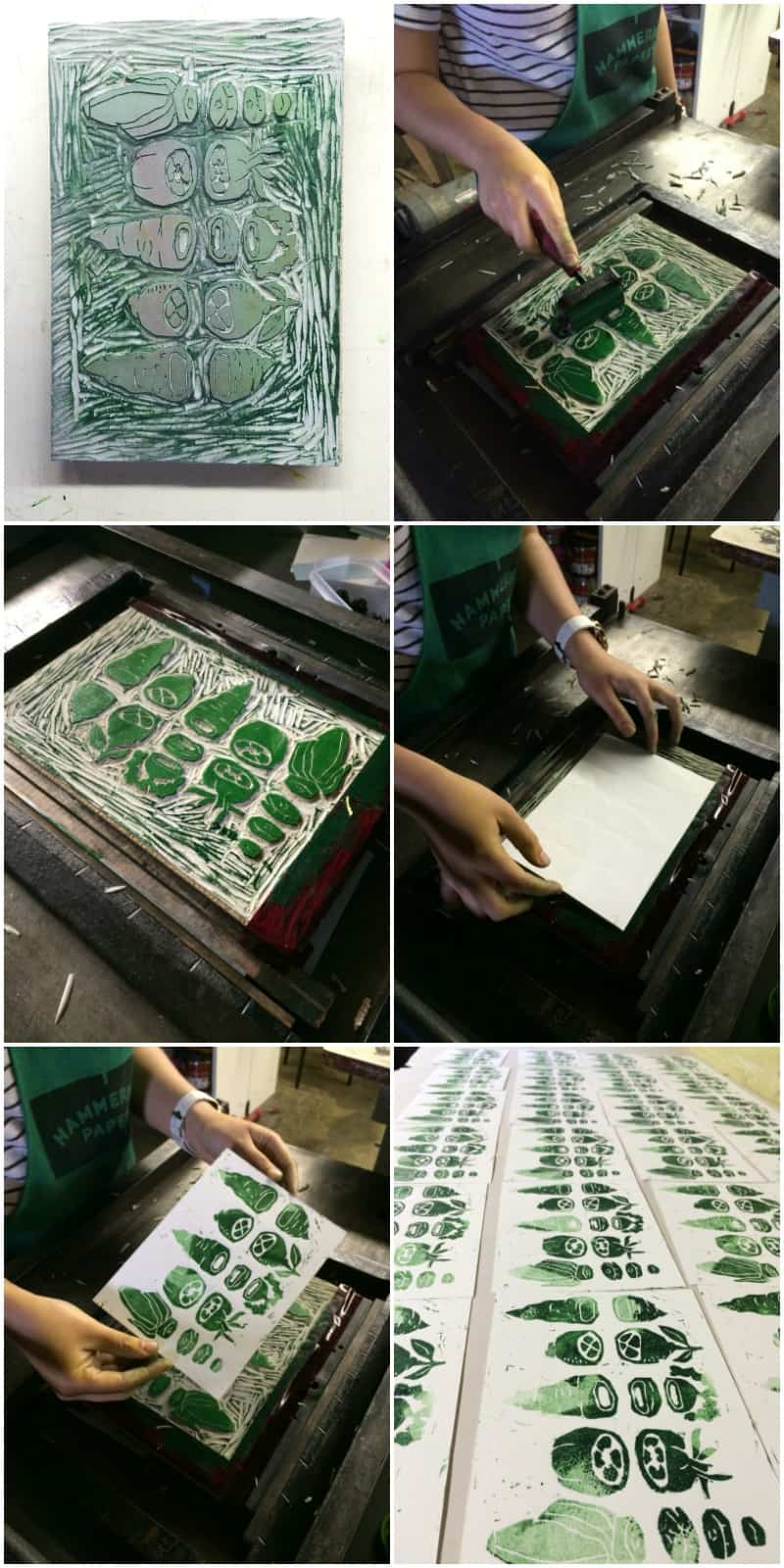 The best time making 5 ingredient prints with Bay View Printing Co.