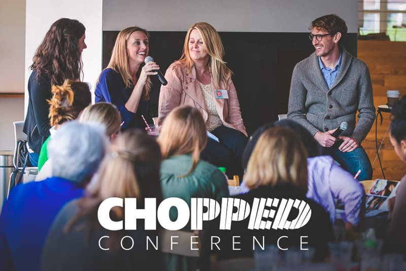 The best food blogger Chopped Conference Panel