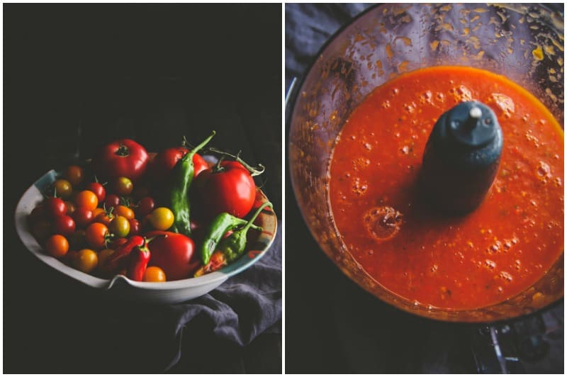 The best homemade enchilada sauce for cheesy chicken and rice enchiladas