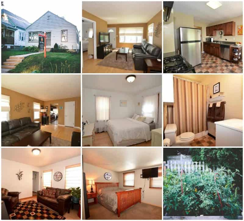 After 6 years and many wonderful memories, we are selling our West Allis, WI house!