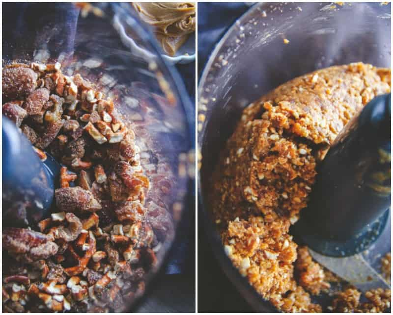 How to make the most amazing peanut butter pretzel energy bites