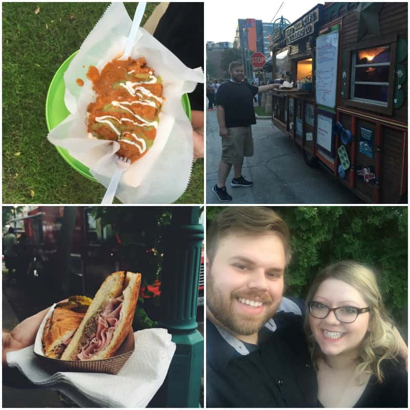 The best time at the Milwaukee food truck festival