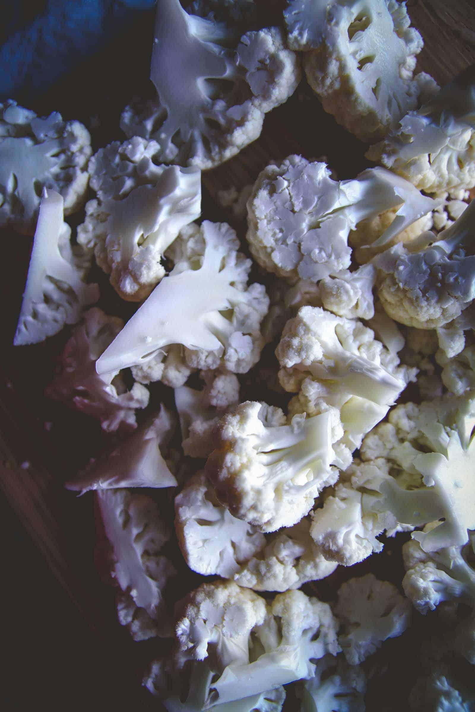 The most amazing 5 ingredient cheesy cauliflower bake