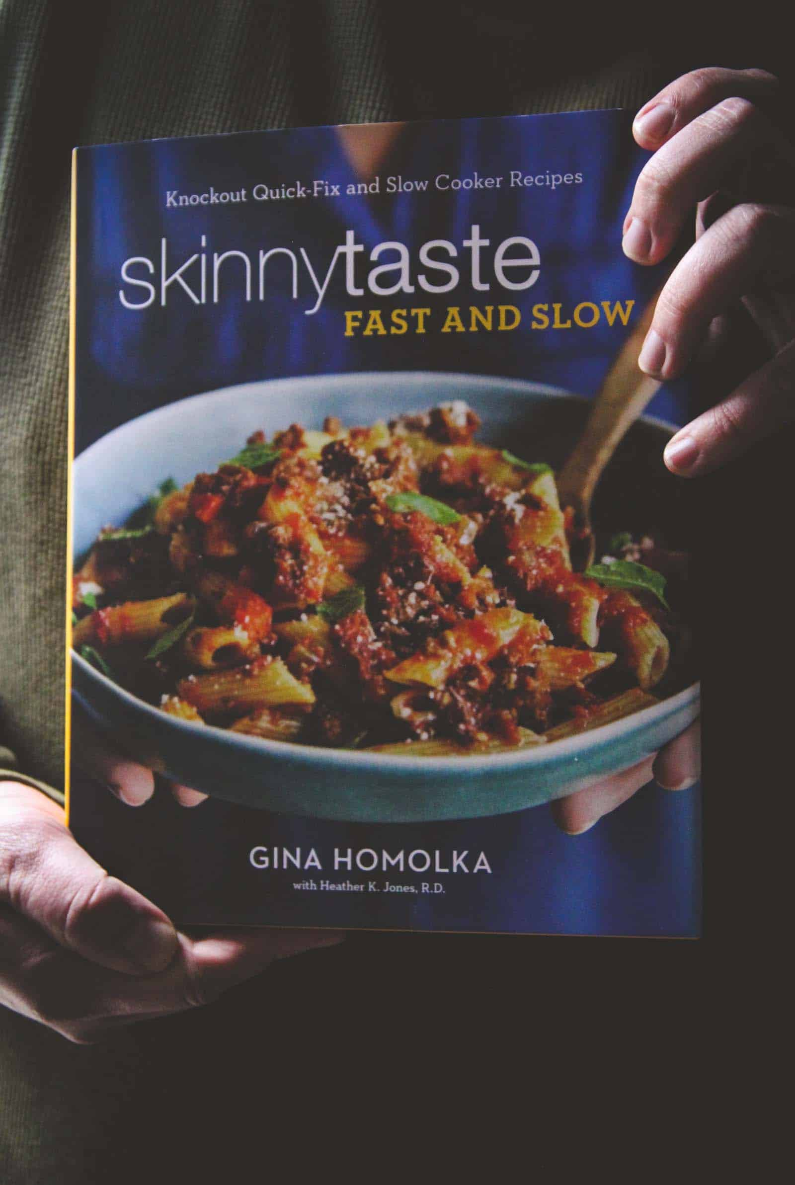 Skinnytaste Fast and Slow cookbook is amazing