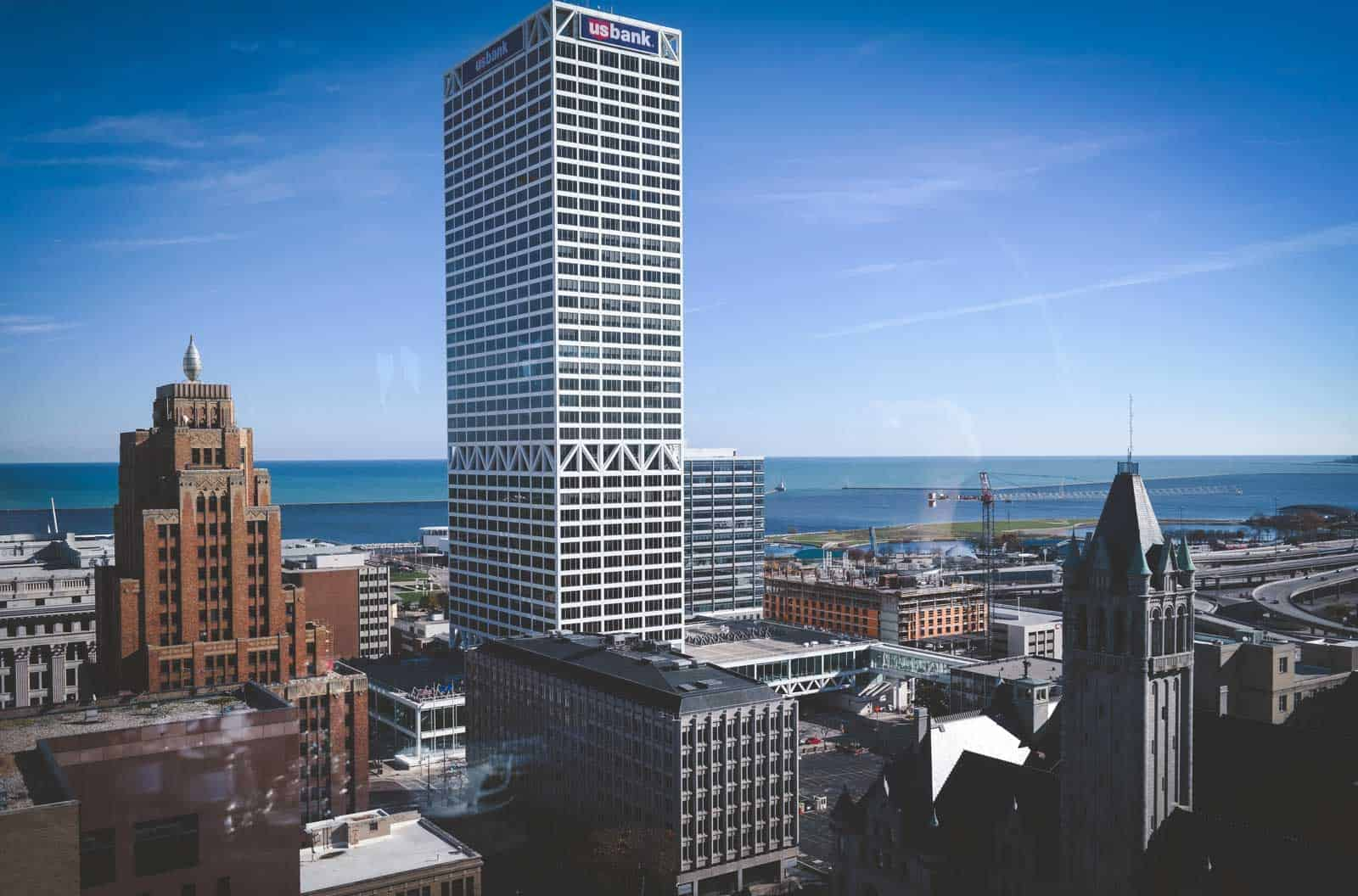 The best views from the Pfister Hotel in Milwaukee