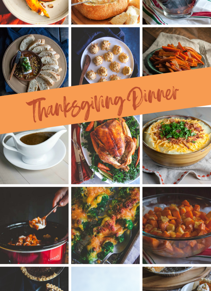 Sharing what to make for Thanksgiving dinner to help your day be easy and fun