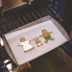 There's a little something in the oven