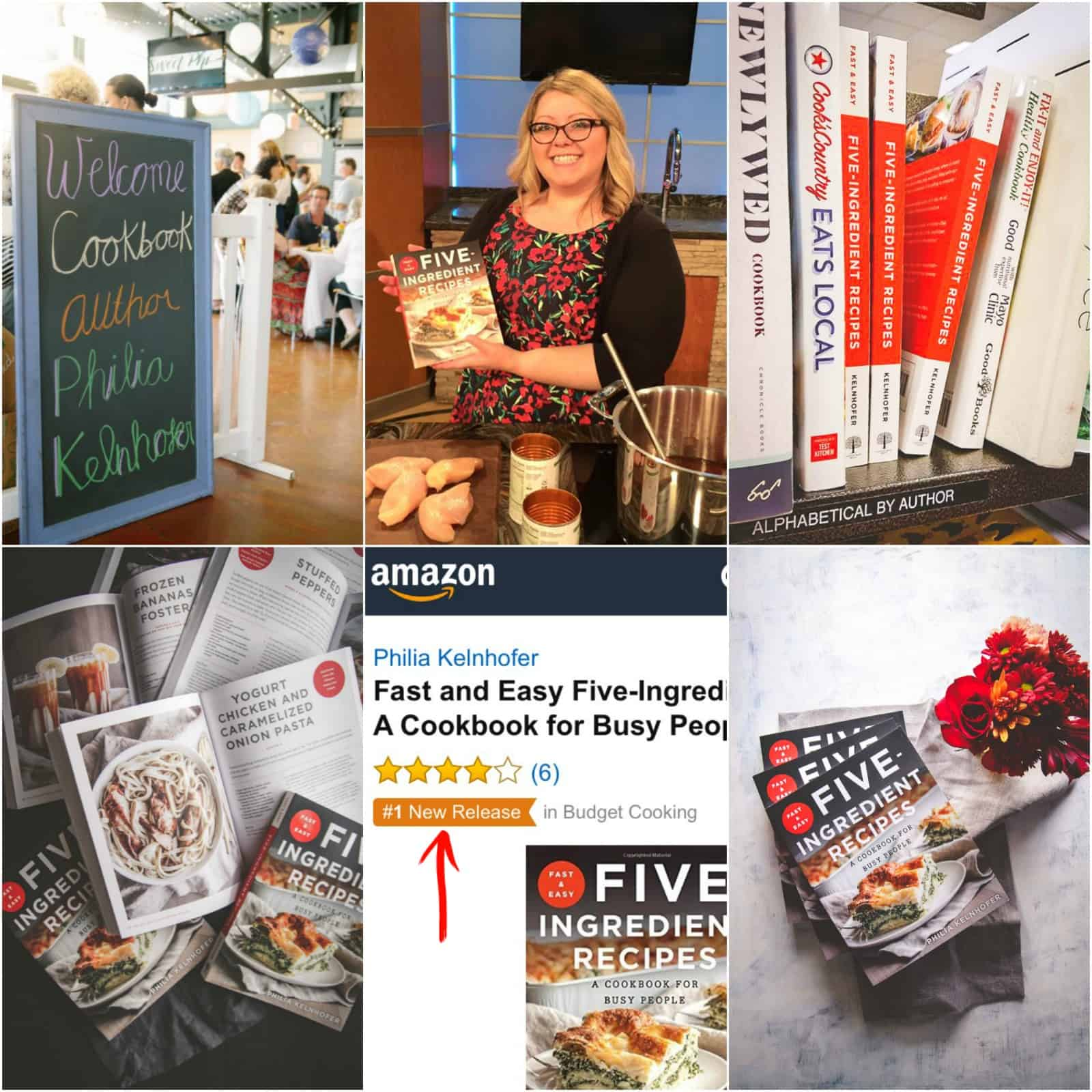 The best cookbook is the Fast and Easy Five Ingredient Recipes - 5 ingredient recipes cookbook